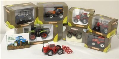 Lot 1292 - Die-cast model tractors.