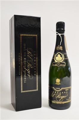 Lot 355-Pol Roger Champagne