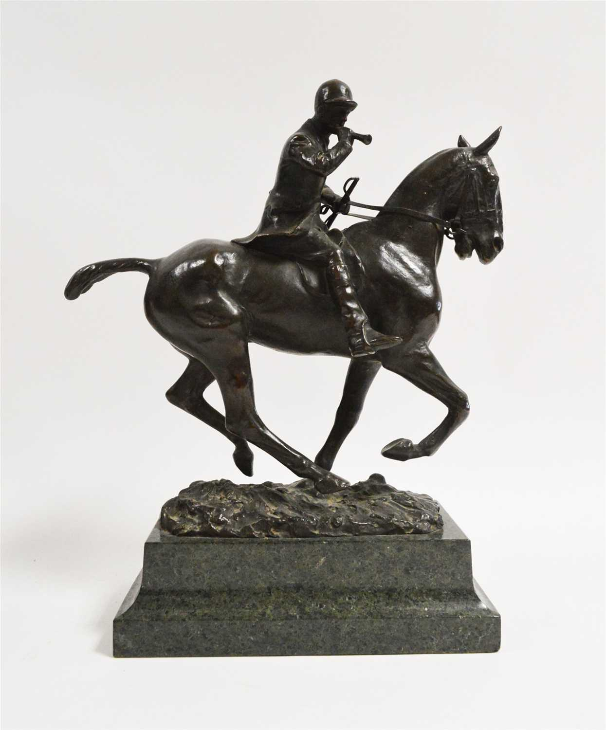 Lot 1013-Cecil Brown - Bronze
