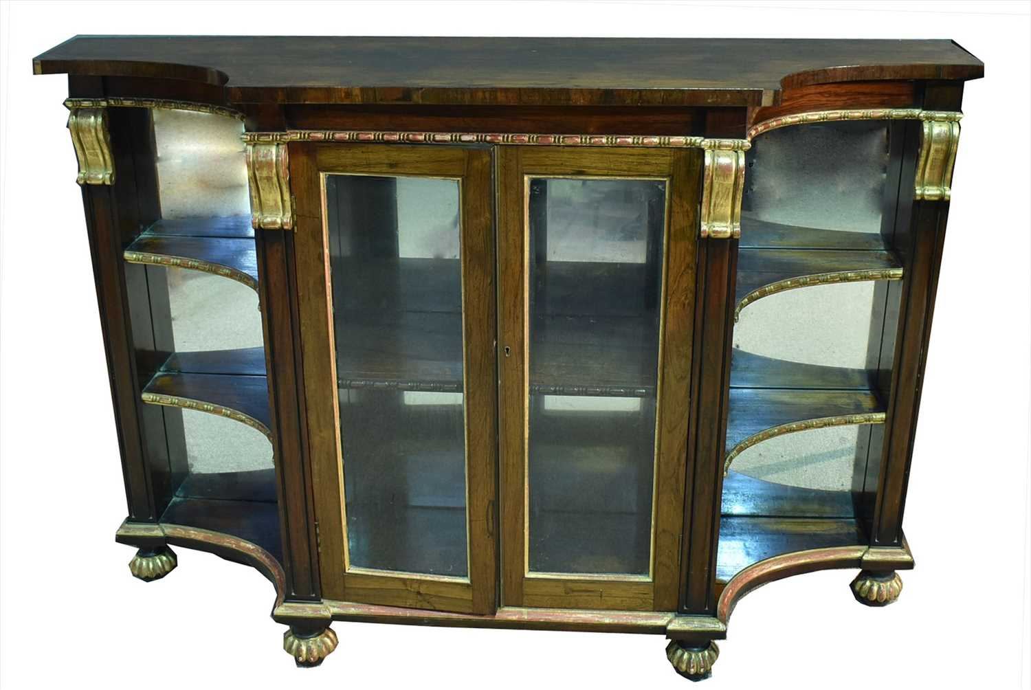 1179 - Mirror-back side cabinet.