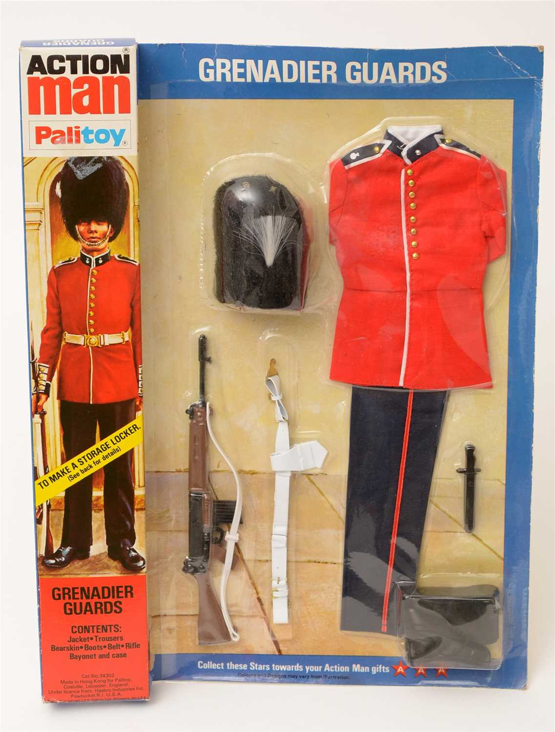 Lot 1204-Action Man Grenadier Guards uniform.