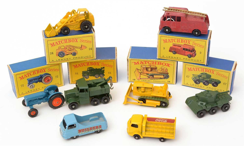 Lot 1360 - Matchbox series die-cast vehicles