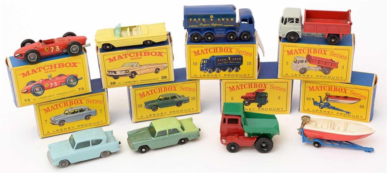 Lot 1361 - Matchbox series die-cast vehicles