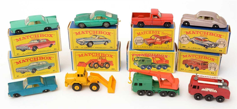 Lot 1364-Matchbox series die-cast vehicles