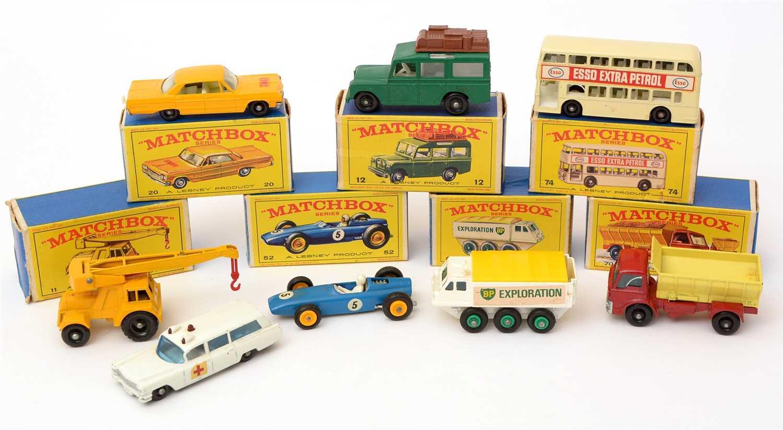 Lot 1366 - Matchbox series die-cast vehicles