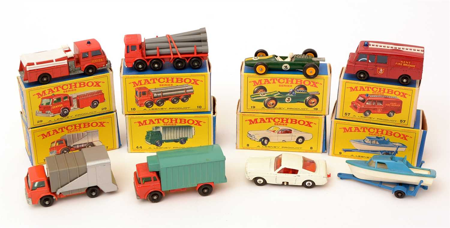 Lot 1368-Matchbox series die-cast vehicles