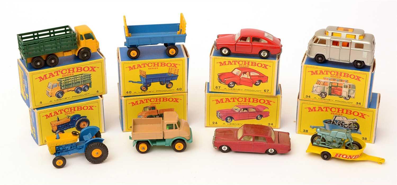 Lot 1369-Matchbox series die-cast vehicles