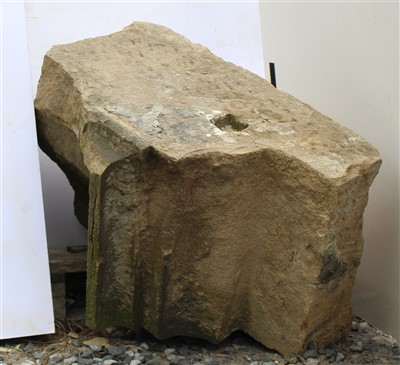 Lot 3-W27; Lower Coping Stone Half.