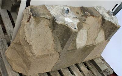 Lot 9-E43; Stooling Course Stone.