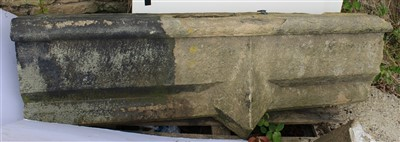 Lot 22-S5; Partial Central Coping Stone.