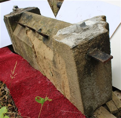 Lot 23-S22; Lower Coping Stone.