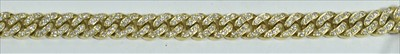 Lot 233-Diamond bracelet