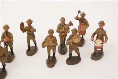 Lot 1212-Elastolin: composition standard-size toy soldiers.
