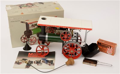 Lot 1203-A Mamod live-steam model traction engine.