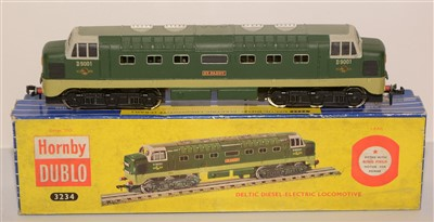 Lot 1396 - A Hornby Dublo 2-rail Deltic diesel-electric locomotive.