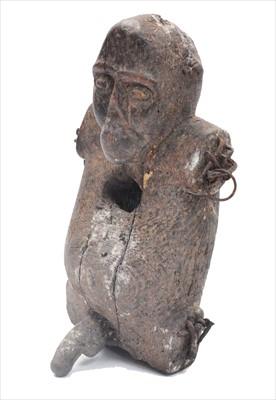 Lot 1518-Monkey fetish