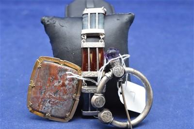Lot 7-Scottish agate jewellery