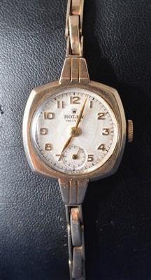 Lot 8-Rolex Precision cocktail watch
