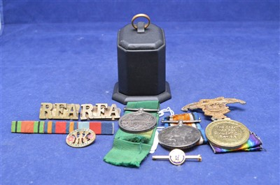 Lot 13-Medals and badges