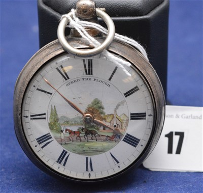 Lot 17-Pair cased pocket watch