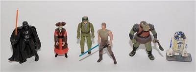 Lot 1214 - Star Wars figurines.