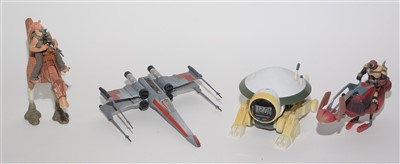 Lot 1215 - Star Wars figures, vehicles and accessories.