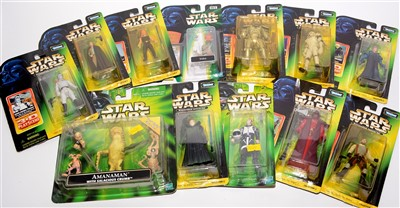 Lot 1219-Star Wars figurines.