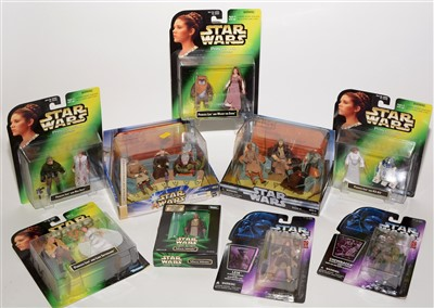 Lot 1220-Star Wars figurines.
