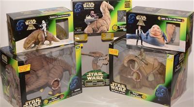 Lot 1227 - Star Wars figurines.