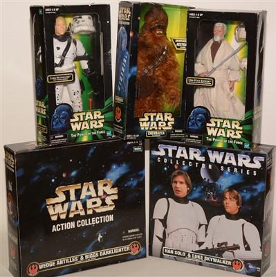 Lot 1228 - Star Wars figurines.