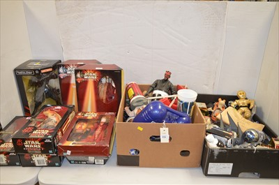 Lot 1233 - Sundry Star Wars novelties and collectables.