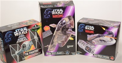 Lot 1235 - Star Wars fighters and other vehicles.