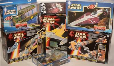 Lot 1237 - Sundry Star Wars vehicles.