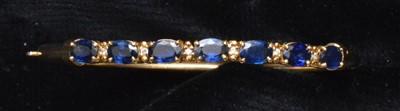 Lot 77-A sapphire bangle