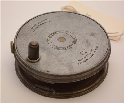 """Lot 1615-Hardy Bros. Limited, Alnwick, England: """"Perfect"""" 3 5/8in. trout fly fishing reel."""