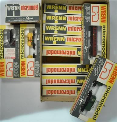 Lot 1208 - Wren micormodel rolling stock
