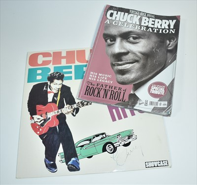 Lot 1004-Chuck Berry signed LP