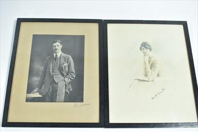 Lot 1002-Harold and Dorothy McMillan signed photos