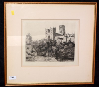 Lot 305-Etching