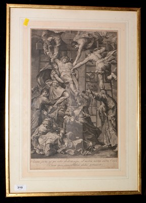 Lot 310-Prints - antique