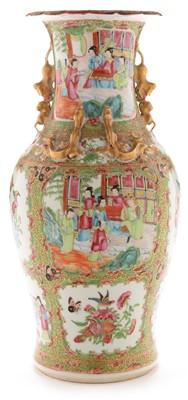 Lot 473-19th Century Canton vase