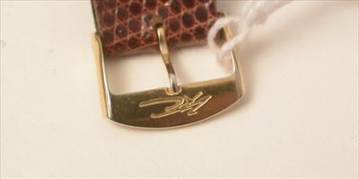 Lot 54 - IWC Int. Watch Co, Schaffhausen: a gentleman's 18ct. gold cased wristwatch
