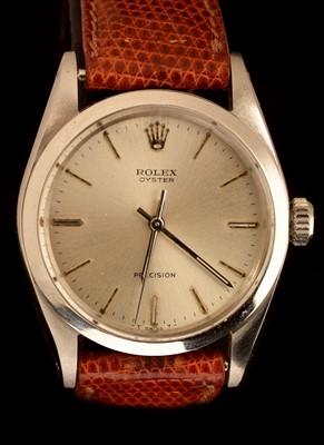 Lot 23 - Rolex Oyster Precision: a Gentleman's stainless steel wristwatch
