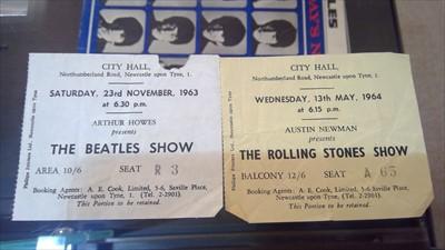 Lot 251-Beatles related memorabilia and LPs
