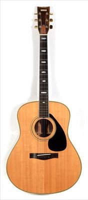 Lot 58 - Yamaha L25A acoustic guitar