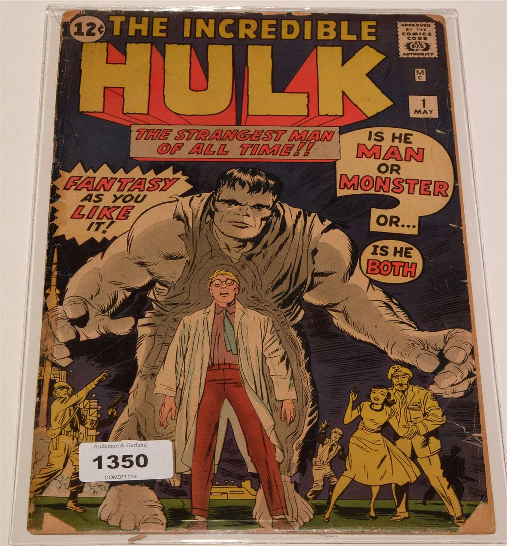 Lot 1350-The Incredible Hulk