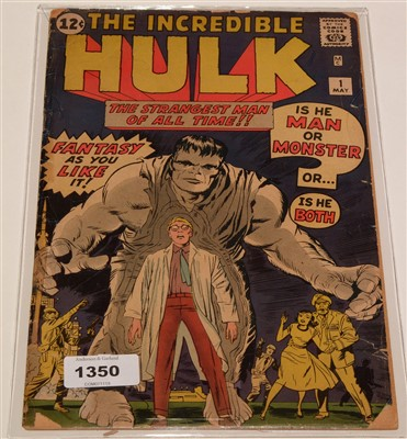 Lot 1350 - The Incredible Hulk