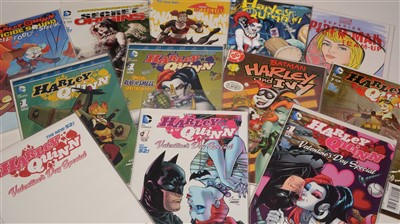 Lot 1573 - Harley Quinn Valentine's Day Special No. 1 and other titles