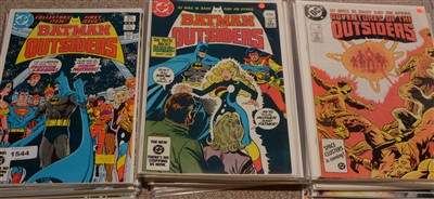 Lot 1544 - Batman and The Outsiders first and second series issues