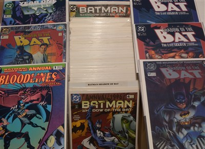 Lot 1550 - Shadow of the Bat No's. 1-94; and Shadow of the Bat Annual No's. 1-5